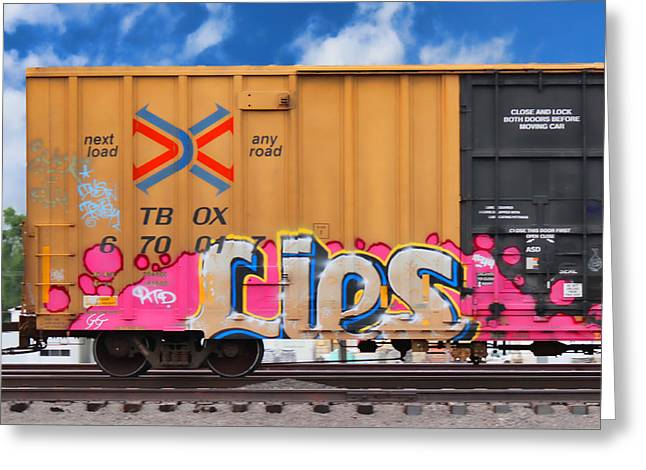 Graffiti - Lips Greeting Card