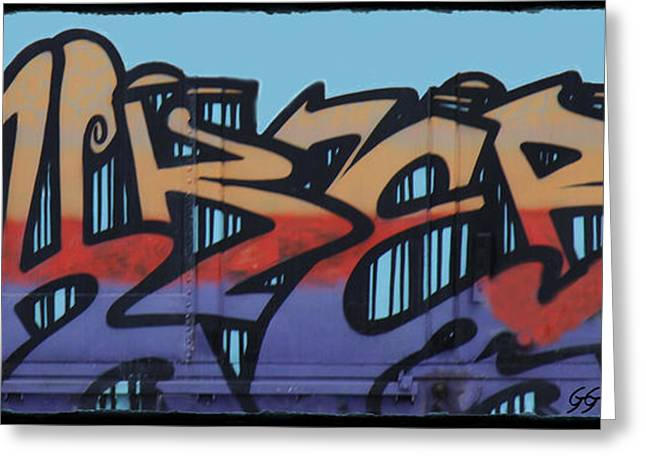 Graffiti - Panel Greeting Card