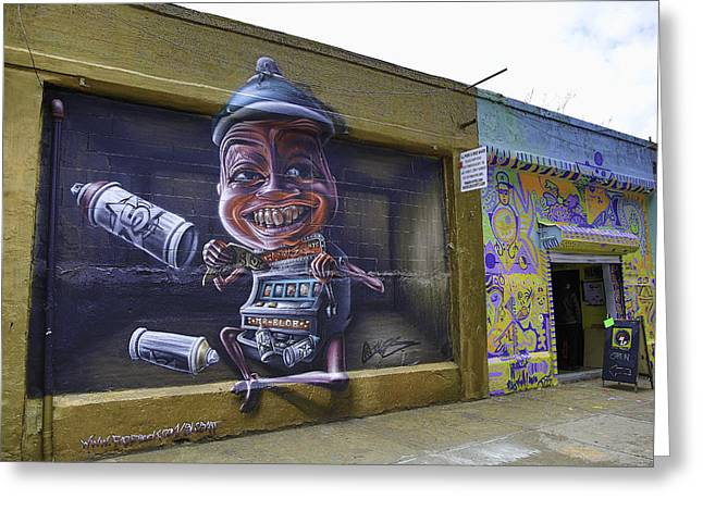 Graffiti Street 2014 Greeting Card