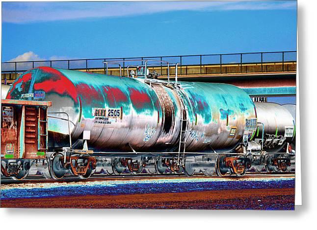 Graffiti - Toxic Tanker II Greeting Card