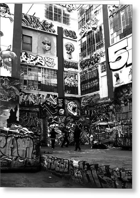 5 Pointz - Graffitti Dreams Greeting Card by Christina Cantero