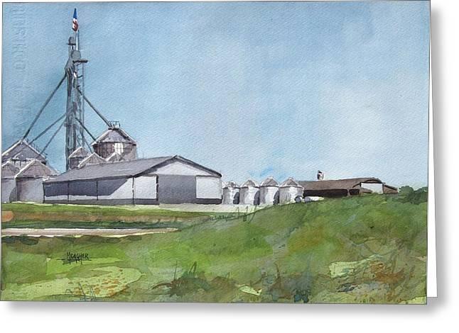 Grainergy Farms Greeting Card
