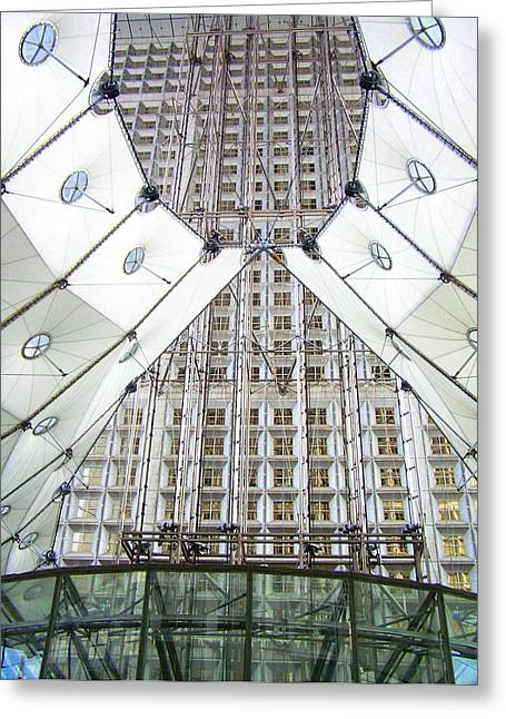 Grand Arche  Greeting Card