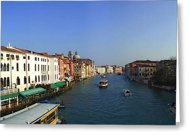 Grand Canal Greeting Card by Gary Lobdell