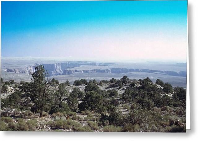 Grand Canyon 1972 Greeting Card