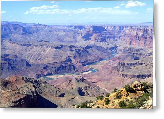 Greeting Card featuring the photograph Grand Canyon 64 by Will Borden