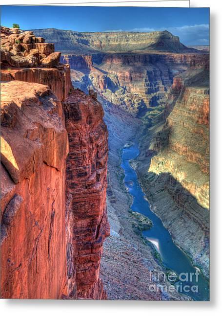 Grand Canyon Awe Inspiring Greeting Card