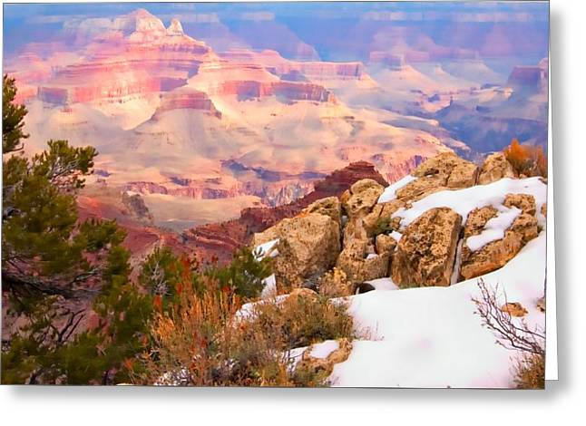 Greeting Card featuring the photograph Grand Canyon by Bob Pardue
