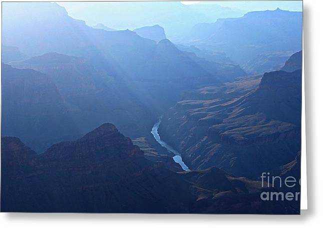 Grand Canyon Greeting Card by Dipali S