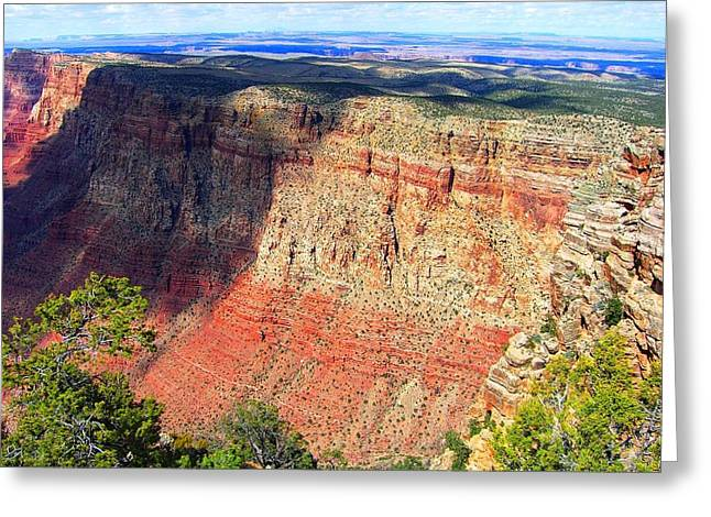 Grand Canyon Greeting Card by Julia Ivanovna Willhite