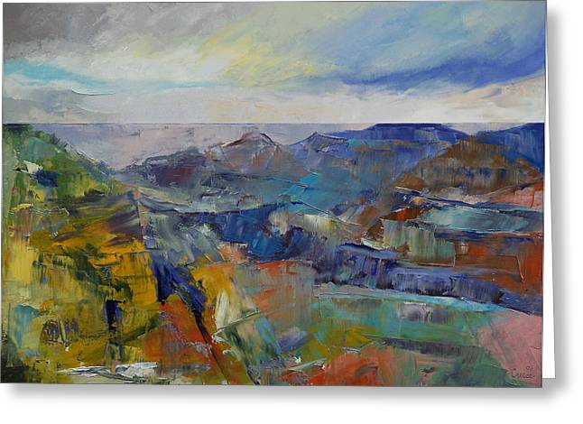 Grand Canyon Greeting Card by Michael Creese