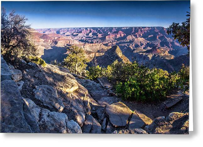 Grand Canyon Morning Greeting Card