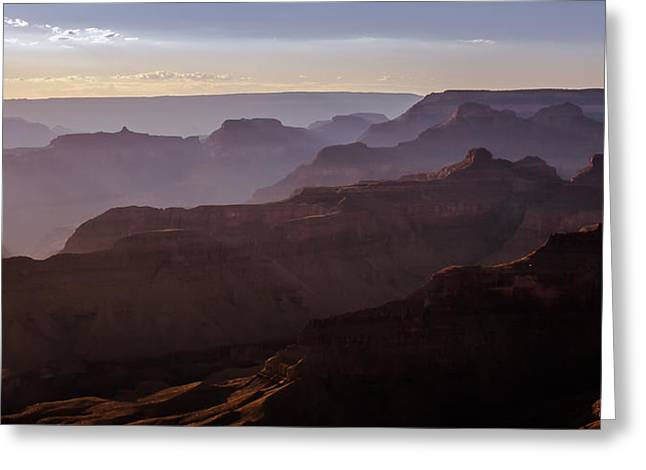 Grand Canyon Mystery Greeting Card by John McArthur