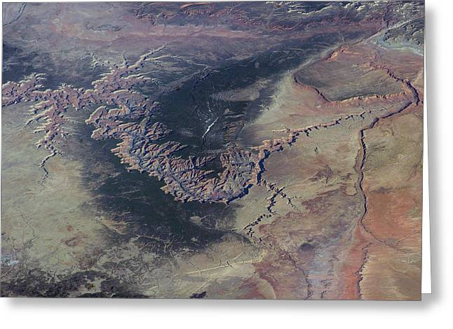 Grand Canyon Greeting Card by Nasa