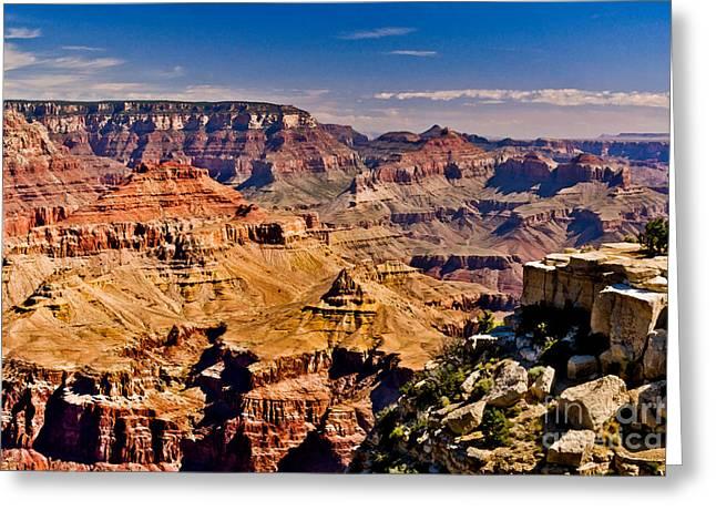 Grand Canyon Painting Greeting Card