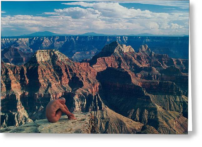 Grand Canyon Greeting Card by Sean Lungmyers