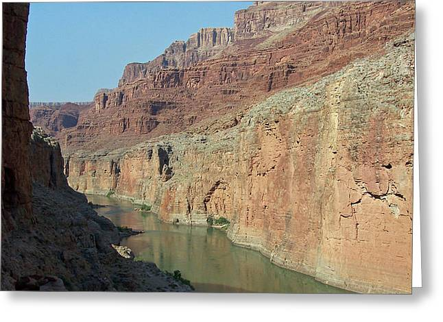 Grand Canyon Shadows Greeting Card
