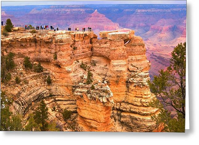 Greeting Card featuring the photograph Grand Canyon South Rim by Bob Pardue