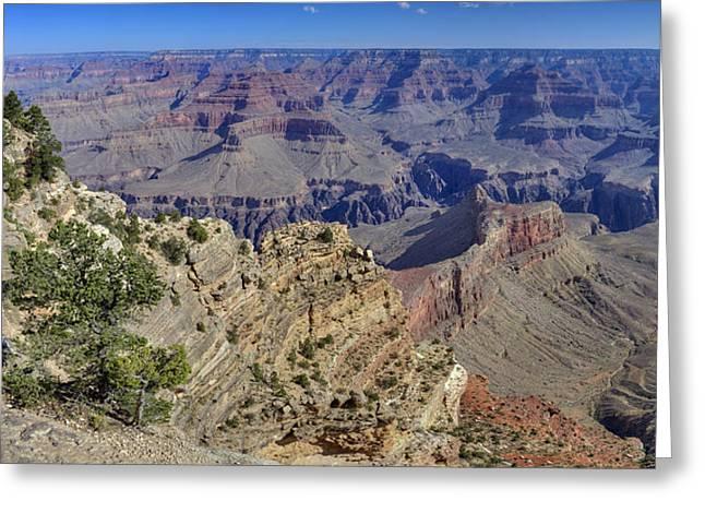 Grand Canyon South Rim Greeting Card by Patrick Jacquet