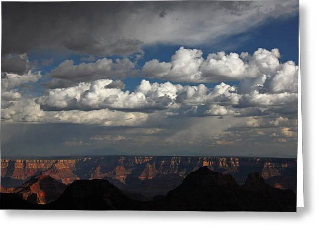 Grand Canyon Storm Greeting Card