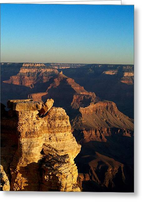 Grand Canyon Sunrise Two Greeting Card by Joshua House