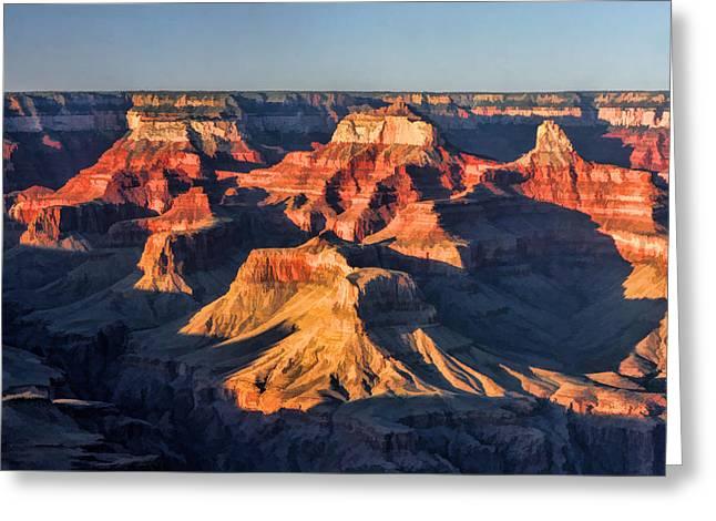 Grand Canyon National Park Sunset Greeting Card