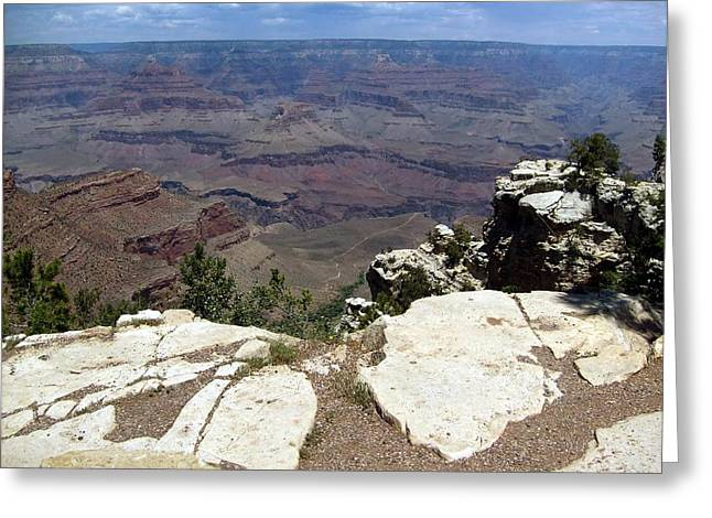 Grand Canyon View 2 Greeting Card