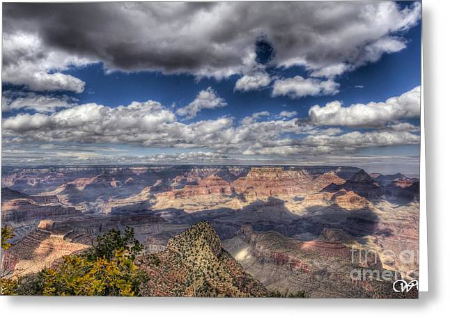 Grand Canyon Greeting Card by Wanda Krack