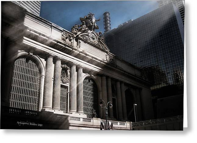 Grand Central #1 Greeting Card