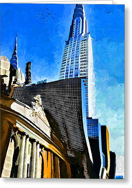 Grand Central #2 Greeting Card