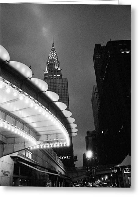 Greeting Card featuring the photograph New York City -grand Central Dawn by Dave Beckerman
