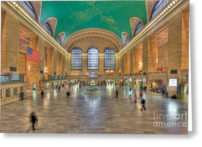 Grand Central Terminal IIi Greeting Card by Clarence Holmes