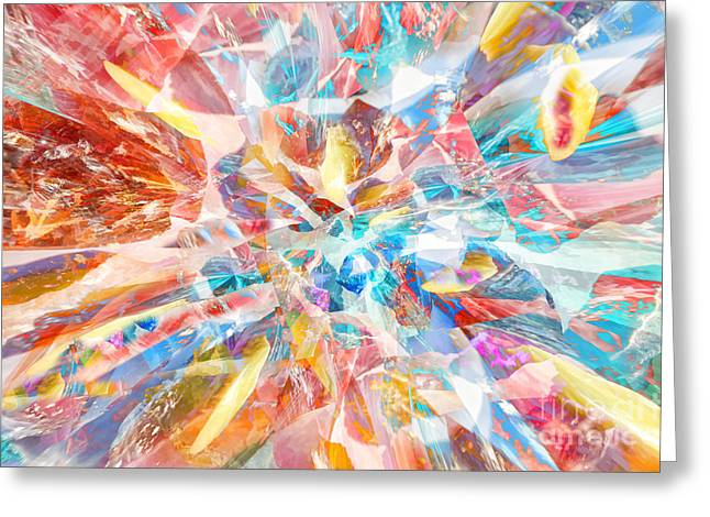 Greeting Card featuring the digital art Grand Entrance by Margie Chapman