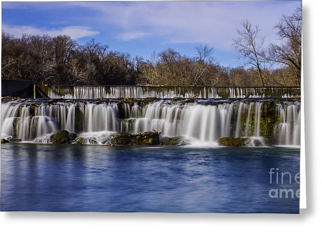 Grand Falls In Joplin Missouri Greeting Card