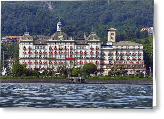 Grand Hotel Des Iles Borromees Greeting Card
