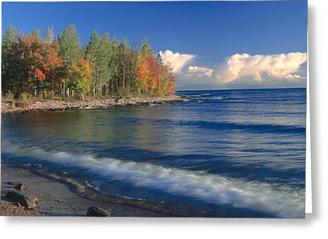 Colors Of Autumn Greeting Cards - Grand Islands National Recreation Area Greeting Card by Panoramic Images