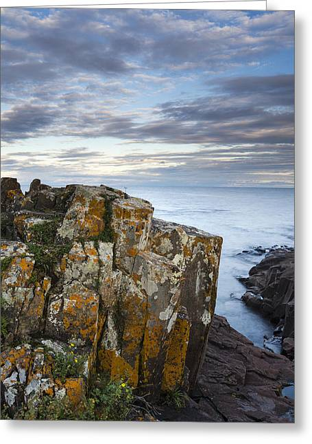 Grand Marais Cliffs Greeting Card by Thomas Pettengill