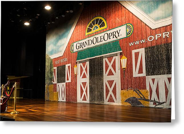 Ryman Grand Ole Opry Greeting Card