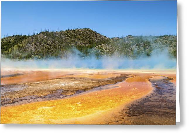 Grand Prismatic Spring - Yellowstone National Park Greeting Card by Brian Harig