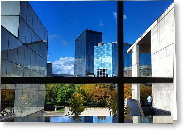 Greeting Card featuring the photograph Grand Rapids Museum Of Art by Toni Martsoukos