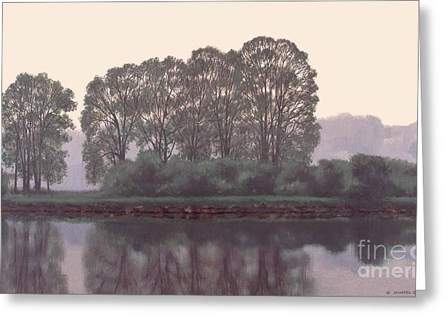 Grand River Sentinels Greeting Card by Michael Swanson