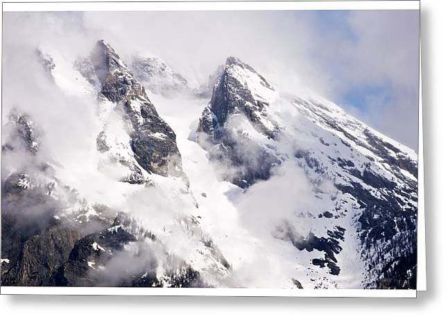 Grand Teton Glacier Greeting Card