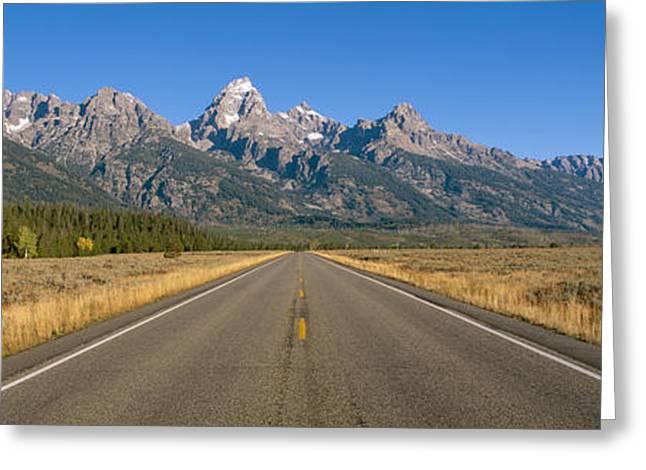 Grand Teton National Park, Wyoming Greeting Card by Panoramic Images