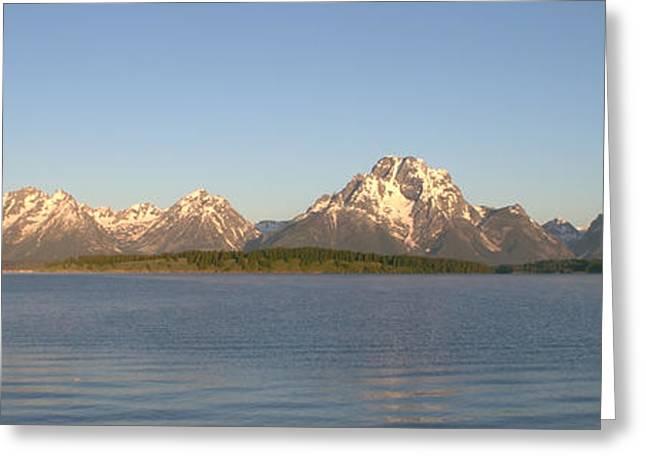 Grand Teton Sunrise Greeting Card by Brian Harig