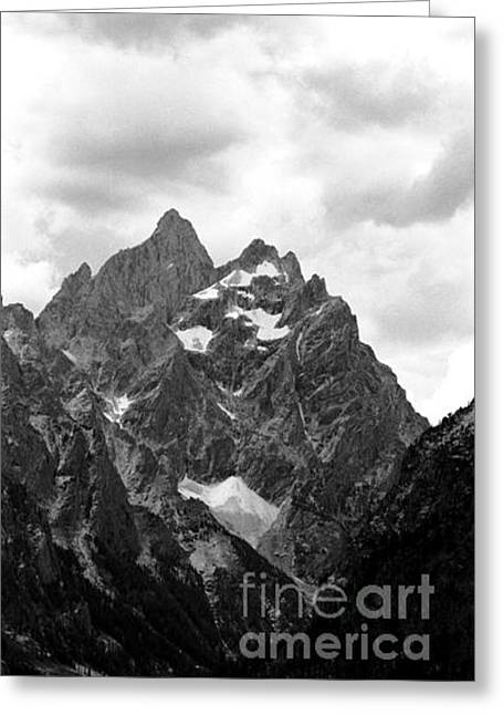 Grand Teton Greeting Card by Susan Chandler