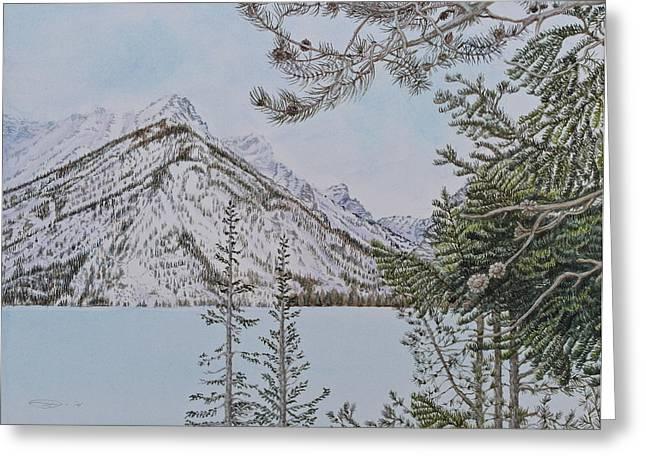 Grand Teton View Greeting Card