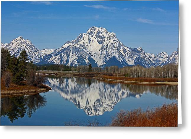 Grand Teton's Greeting Card