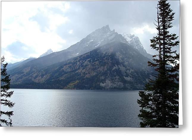 Grand Tetons Greeting Card