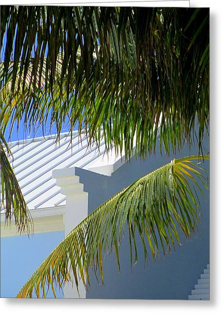Grand Turk Architecture Greeting Card by Randall Weidner