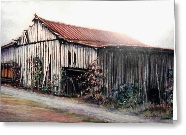 Grandaddy's Barn Greeting Card by Melodye Whitaker